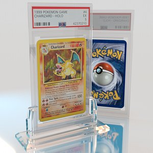 pokemon card play 3D model