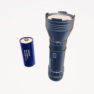 flashlight light 3D