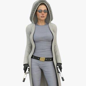 3D Lara Croft - Movie Outfit V2