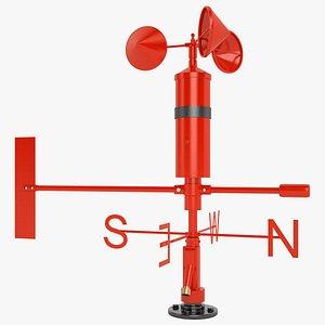 3D wind speed sensor