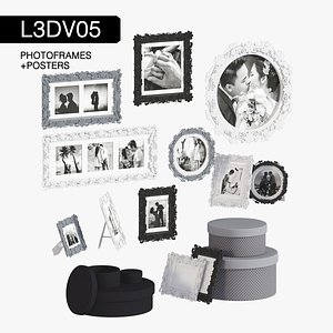 3D photoframes posters