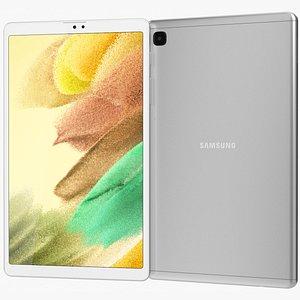 3D Samsung Galaxy Tab A7 Lite Silver