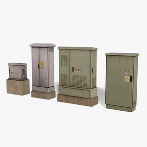 ElectricBox 3D model Pack model
