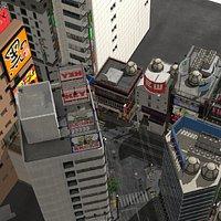 Japanese Streetscape Tokyo 0004