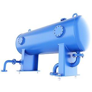 3D model tank liquid vessel