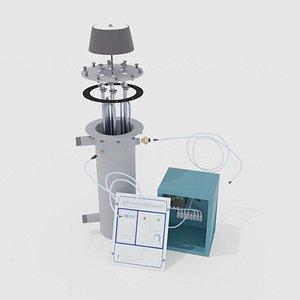 3D boiler evan model