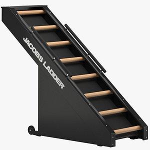 3D jacobs ladder cardio