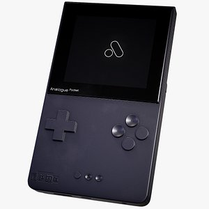 console analogue pocket 3D