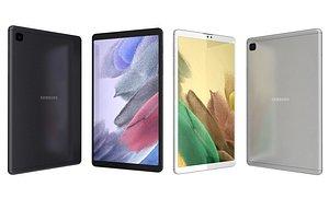 3D Samsung Galaxy Tab A7 Lite Gray And Silver(1)