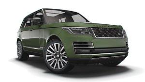3D model Range Rover SVAutobiography Ultimate LWB 2021