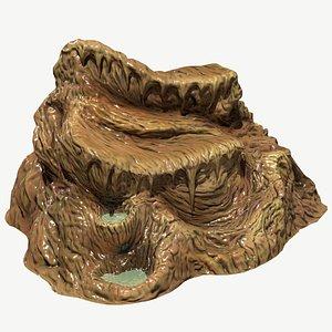 3D stalagmites formats