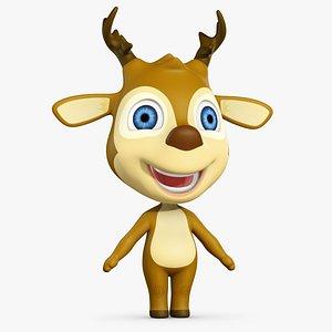 cartoon animation character model