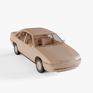 1988 Holden Commodore sedan 3D model
