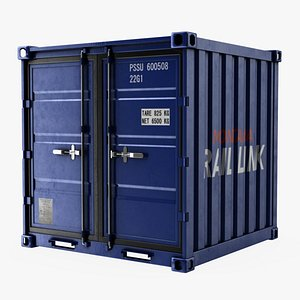 3D 8 Foot Storage Container