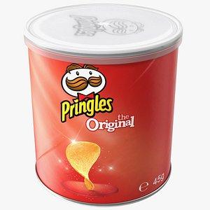 3D Pringles Original Flavor Potato Chips Small Can
