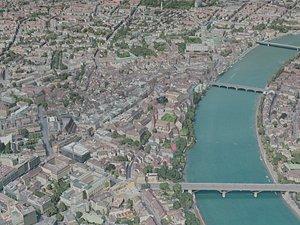 3D basel city model