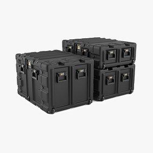 3D Pelican Rackmount Case Colection