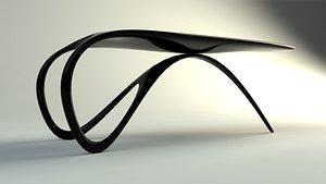 3D Jet Desk model