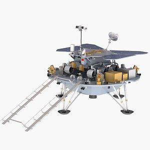 tianwen mars probe 3D model