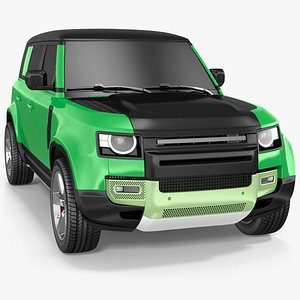 Comfortable SUV Exterior Only 3D