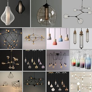 3D light collection model