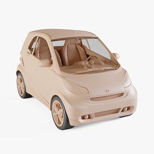 3D model 2011 Smart ForTwo