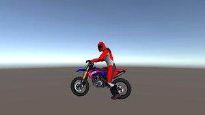 3D dirt bikes model