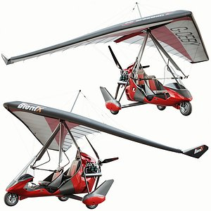 tanarg 912 ultralight 3D model