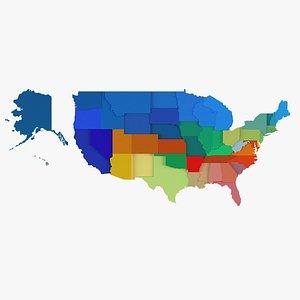 Usa states model