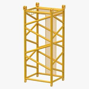 crane d intermediate section 3D model