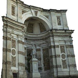 3D scan niche model