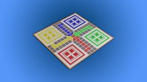 ludo board 3D