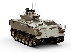 tank vehicle 3D