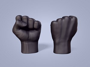 fist figurine 3D model