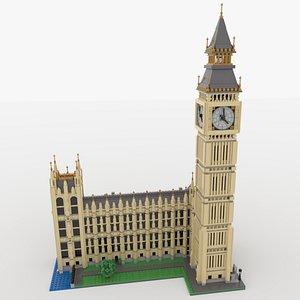 Lego Big Ben 3D model
