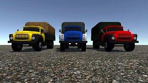 - industrial truck 3D