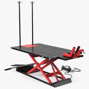 3D atv lift table motorcycle model