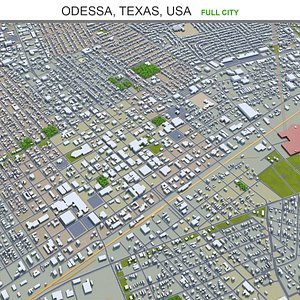 Odessa Texas USA model