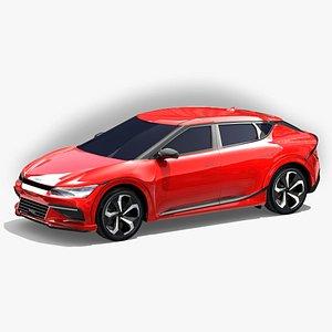 3D ev6 model