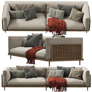sofa belle 3D