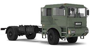 chassis kraz 5401 interior model