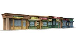 3D shop model
