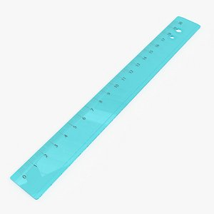 ruler plastic 3D model