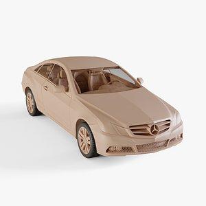 2011 Mercedes-Benz E-class 3D model