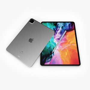 3D ipad pro 2020 apple