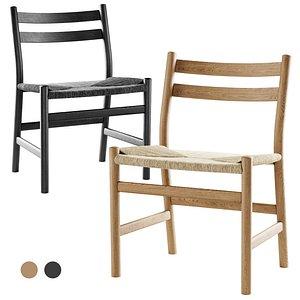 3D arl hansen chair model
