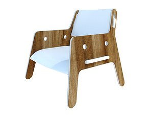 3D seating chair model