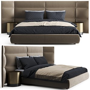3D Baxter Couche Extra Bed