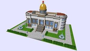 townhall cityhall capitol 3D model