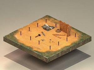 Building Foundation 4 3D